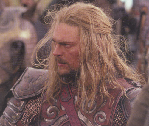 Eomer in the Riders of Rohan scene