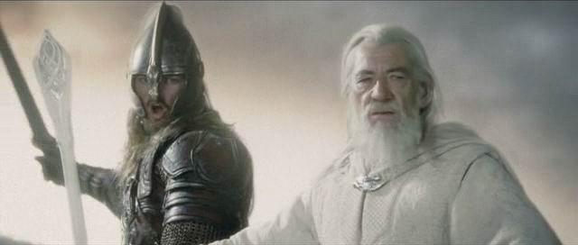 Eomer and Gandalf
